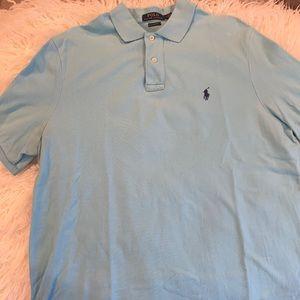 Polo teal short sleeve shirt!